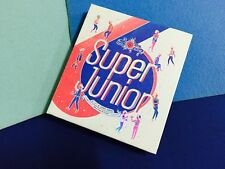 SUPER JUNIOR 6th album Spy repackage autographed by all (inside)