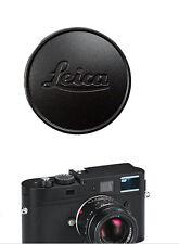 Metal Black Lens Cap per Leica L39 E39 39mm Summicron Summaron Tinra 35/2 M50/2