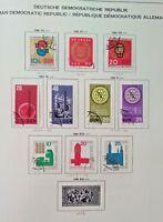 Germany DDR GDR Stamps Lot2