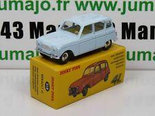 DT13 Voiture réédition DINKY TOYS atlas : 518 Renault 4L Blue Clair UK