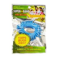 Evergreen Superband Premium 250Hr Non-Toxic Mosquito Repelling Wristband - Blue