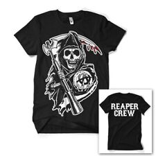 Sons of Anarchy Reaper Crew SAMCRO Official TV series Black Mens T-shirt