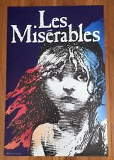 "RARE Vintage 1986 Les Miserables Original Broadway Poster - London, UK - 20""x30"""