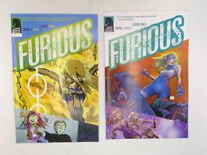Furious #3 & 4 Dark Horse Comics 2014 VF