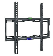 "NEW A195DC BLACK UNIVERSAL FIXED TV MOUNTING BRACKET FOR SCREENS FROM 26"" TO 55"""