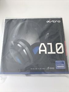 Astro A10 Gaming Headset For PC/PlayStation/Xbox- UK Seller - [Blue/Black]