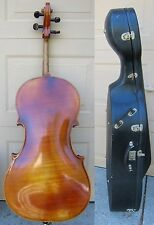 1961 SCHERL & ROTH 3/4  CELLO ,COPY OF STRAD. GERMANY MADE, BOW,CASE