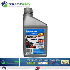 Lawnmower Oil 1Ltr SAE 10W/30 4 Stroke Bynorm Semi Synthetic Lawn Mower Fluid 1L