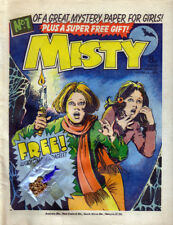 Misty & Scream -Complete -  Classic UK  comic dvd rom collection