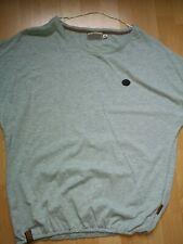 Orginal Naketano Halbarmshirt ** Halbarm  Shirt grün melange XL ca. 44 * wie Neu