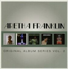 ARETHA FRANKLIN - ORIGINAL ALBUM SERIES VOL.2 5 CD NEUF