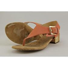 Low (3/4 in. to 1 1/2 in.) Suede T-Strap Sandals & Flip Flops for Women