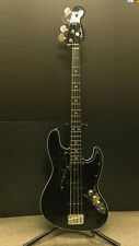 2010-2012 Fender Japan AJB AeroDyne Jazz Bass Guitar Black Made in Japan