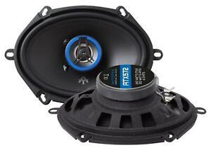 Autotek ATX572 13x18cm 5x7 Zoll 2-Wege-Lautsprecher 180 Watt RMS: 90 Watt