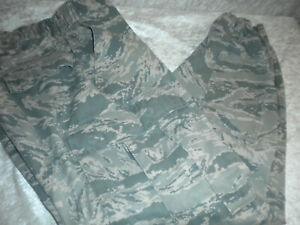 US AIR FORCE MILITARY MARPART CAMOUFLAGE FIELD PANTS FELDHOSE LUFTWAFFE 32S