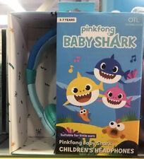 Pinkfong Blue Baby Shark Headphones