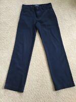 Polo Ralph Lauren Boy's 16 Dark Navy  Blue Chinos Straight Leg Pants 100% Cotton