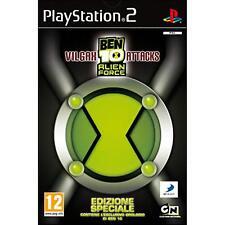 PS2 Ben 10 Alien Force Vilgax Attacks + Orologio da polso esclusivo NUOVO
