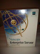 Netscape Enterprise Server 3.6Sp1 New in Shrink-wrap 111-04294-04 Software ©1997