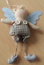 Engel #1 aus Stoff mit Metallflügel ca. 15cm
