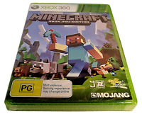 Minecraft Microsoft XBOX 360 PAL Brand New *sealed*