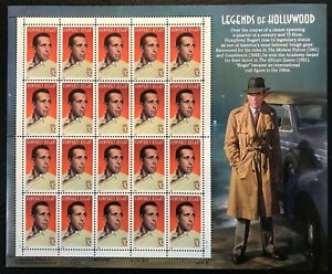 1997 Scott #3152 - 32¢ HUMPHREY BOGART Legends of Hollywood - Sheet of 20 - MNH