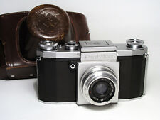 Praktica  SLR camera with Industar-50 1:3,5 f=50  lens.
