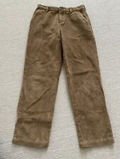 Brooks Brothers Fleece Boys Size 14 Wide Whale Corduroy Pants