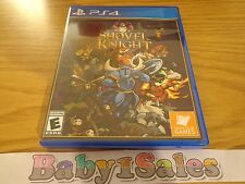 Shovel Knight Sony PS4 (Playstation 4) Game RARE Physical Copy