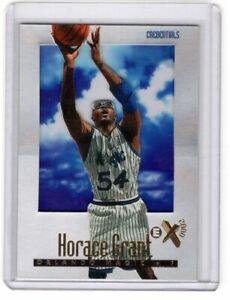 1996-97 FLEER EX 2000 CREDENTIALS PARALLEL CARD #50 HORACE GRANT 324/499 MAGIC
