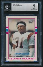 1989 Topps rookie #27 Ickey Woods rc BGS 9 Mint