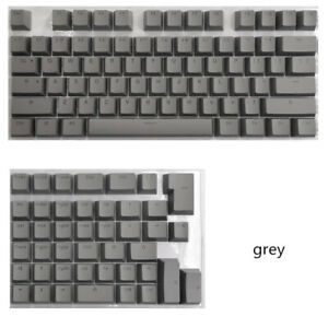 PBT Keycaps For Mechanical Keyboard Suit For 61-84 Layout With RGB Letters