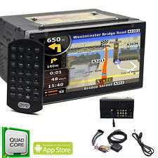 """7""""Android 6.0 Car Stereo DVD Player GPS Navigation 3G WIFI DAB+ Bluetooth 4 Core"""