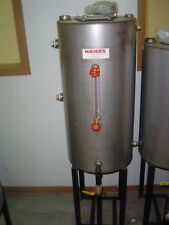 """19"""" x 42"""" Stainless Steel Dry Cleaning Return Tank for 25-40 HP boiler"""