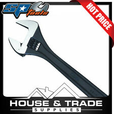SP Tools Adjustable Wrench 600mm Wide Jaw Premium Black SP18088