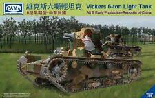 Riich Models CV35004 1/35 WWII Chinese Vickers 6- Ton Light Tank