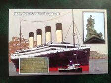 Postcard RMS Titanic memorial 85th Anniversary 1997 no.18 Graham & Sons