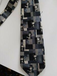 Men's Snoopy Silk Tie