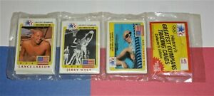 1983 Olympics Rack Pack JERRY WEST on front Los Angeles Lakers Olympiad 45 cards