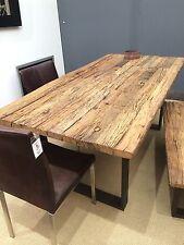 Esstisch Tisch Thar 200x100cm Altholz Massiv Industrie Design Sit NEU Lagerware