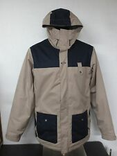 Oakley Anorak Fit Size XL Light Brown 100% Polyester Size Vents Snow Jacket Mens