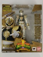 Bandai S.H. Figuarts Mighty Morphin Power Rangers White Ranger Missing Weapons