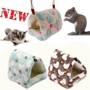 Hammock Nest Ferret Rabbit Guinea Pig Rat Hamster Mice Bed Warmer House Cave Toy
