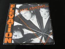 "ELEVATION...CRAZY RICHOCHET...ELECTRONIC NEW WAVE ITALO-DISCO 7"" 45 RPM SINGLE"