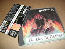 HELLOWEEN -THE TIME OF THE OATH- AWESOME VERY RARE 1ST JAPAN PRESS STICKERS OBI