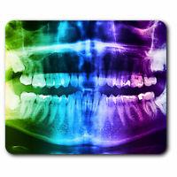 Computer Mouse Mat - Dental Teeth X-Ray Dentist Dental Office Gift #21454