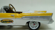 1957 Chevy Pedal Car Vintage Sport Metal Show Hot Rod Midget Model