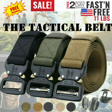 Outdoor Tactical Military Training Heavy Duty Nylon Quick Release Rigger's Belt