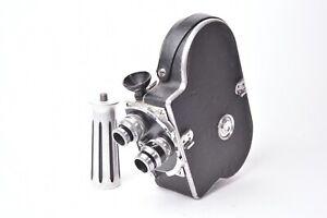 Kamera Cinema Bolex Paillard Premier Modell H8. Mit Griff Und Zwei Objektive