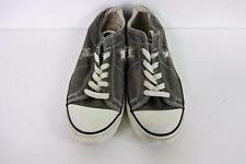 Converse All Star Ox Style Baskets Homme Taille EU 38 UK 5.5 Gris Grade A AC098
